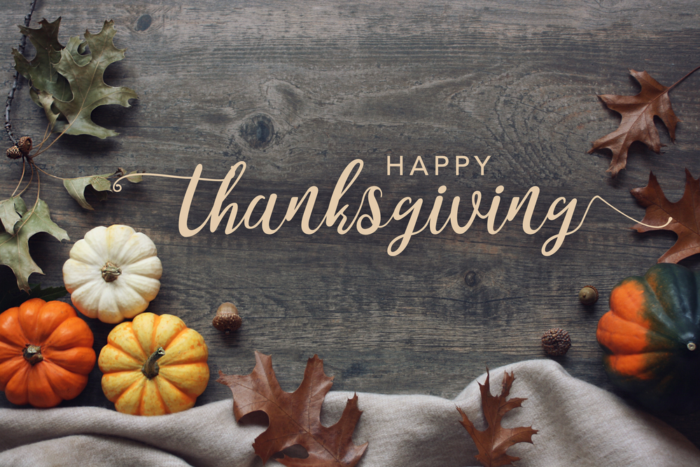 Happy Thanksgiving from Main Street Medical Clinic!