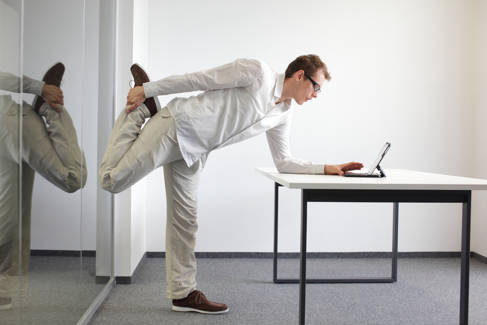 Fun Healthy Exercises for Office Workers